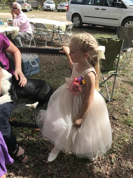 [Image: Early Fall Wedding included many children and they nearly stole the show!  (NEARLY)]