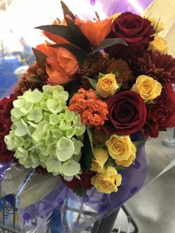 Bridal Bouquet for Autumn in the Barn Loft